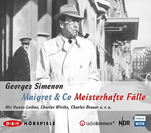 Maigret & Co - Meisterhafte Fälle: Hörspiele (5 CDs)