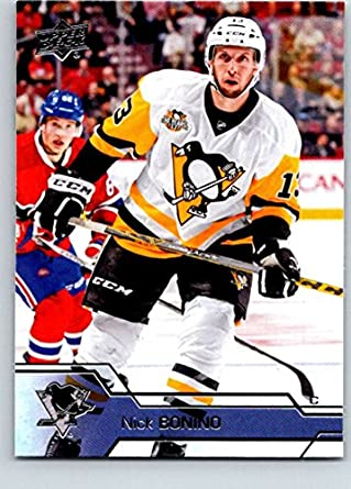 5a14bfad9 Amazon.com  2016-17 Upper Deck  398 Nick Bonino Mint Hockey NHL ...
