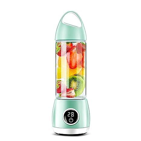 LKSIING Licuadora USB Portátil y Recargable para Jugo de Fruta ...