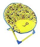 HGL Fun Folding Emoji Moon Chair