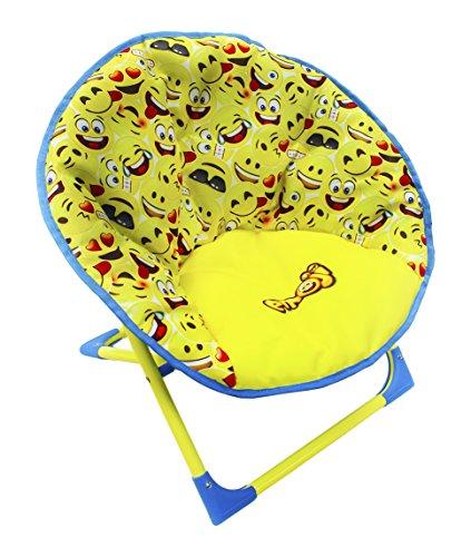 HGL Fun Folding Emoji Moon Chair by HGL