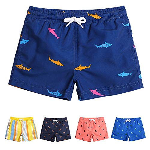 MaaMgic Boys 2T Swim Trunks Toddler Swim Shorts Little Boys Bathing Suit Swimsuit Toddler Boy -