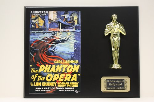 Phantom Of The Opera With Lon Chaney LTD Edition Oscar Movie Poster - Phantom Outlet