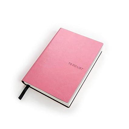 CXYBJB Cuaderno Cuaderno De Cuero Cuaderno Escolar A6 ...