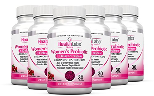 Health Labs Nutra Probiotic for Women 6-Month Supply with...