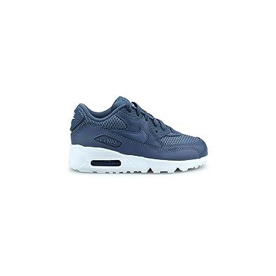 Nike Air Max 90 Mesh enfant Bleu 833420-409
