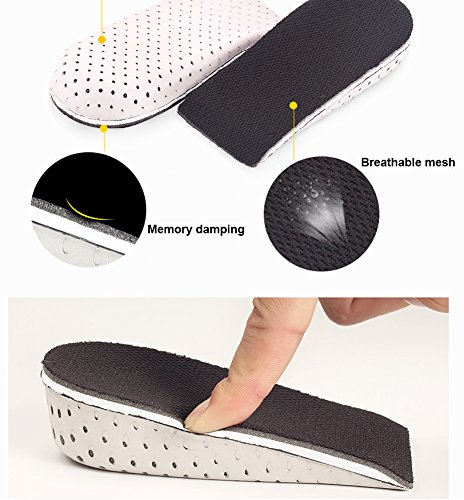 Inserts Women Breathable Height Richoose For 4cm One Insoles Insole Memory Foam Increase Pads Invisible Lifting Pair Increased 2cm Men Heel Elevator Shoe Lifts nXxAExwR47