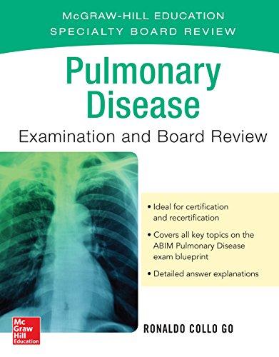 Pulmonary Disease Examination and Board Review - http://medicalbooks.filipinodoctors.org