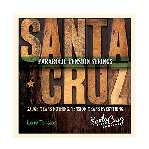 Santa Cruz Parabolic Tension Acoustic Guitar Strings Low Tension
