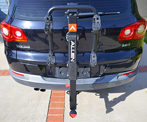 Allen Sports Premier Locking Quick Release 2-Bike Carrier for 2 in. & 1 4 in. Hitch by Allen Sports (Image #3)