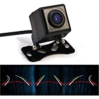 Backup camera , GERI intelligent reversing track / Car Rear View camera with dynamic trajectory HD night vision 170 degree Wide Angle