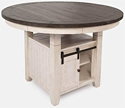 Jofran Madison County Reclaimed Pine Round Storage Dining