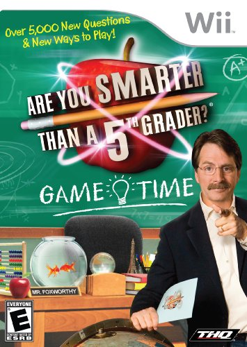 Are You Smarter Than a 5th Grader: Game Time - Nintendo Wii ()