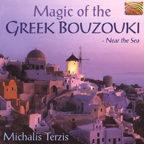 Michalis Terzis Magic of the Greek Bouzouki Near the Sea Audio CD