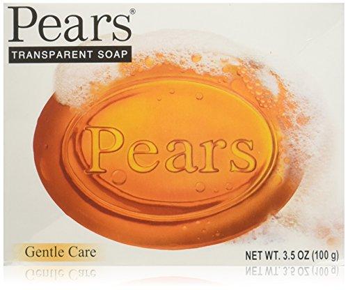 Lot of 12 Pears Bar Soap Bath All Natural Original Glycerine Transparent 3.5 Oz