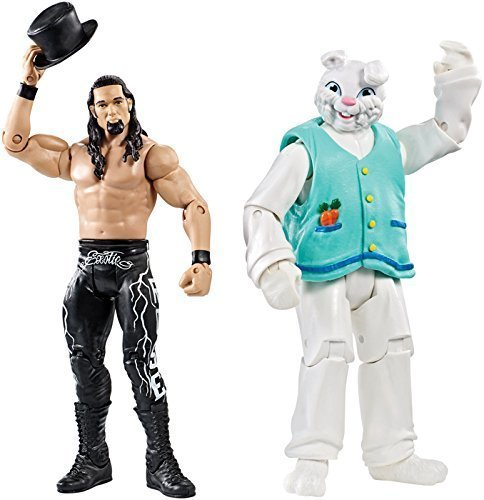 ADAM ROSE & THE BUNNY - WWE BATTLE PACKS 38 WWE TOY WRESTLING ACTION FIGURE 2-PACKS by Wrestling [parallel import goods]