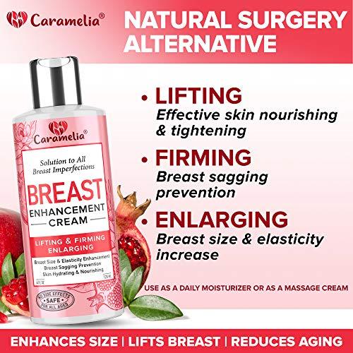 Breast Enhancement Cream for Women- Saggy Breast Lift Cream - Made in USA - Breast Enhancement Cream - Breast Firming and Lifting Cream for Saggy Breast - Breast Growth Cream for Firmer Breast