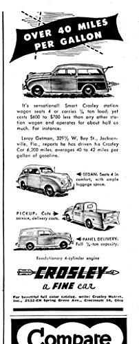 1948 Crosley Station Wagon-Sedan-Pick-Up-Panel Delivery-Original Magazine ()