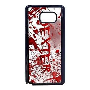 Samsung Galaxy Note 5 Phone Case Black Dexter-Blood WQ5RT7549291