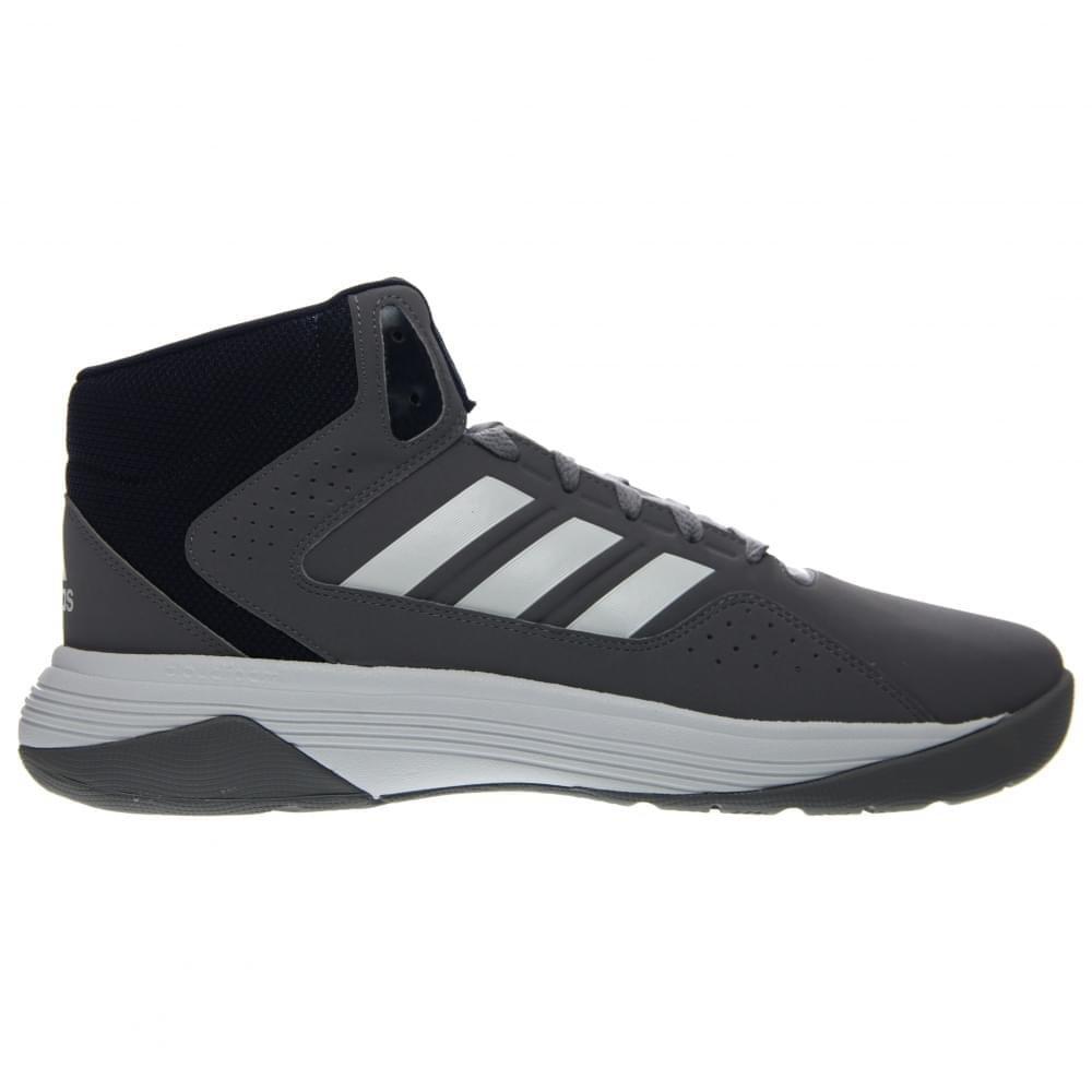uk availability fcc68 e2a5d Galleon - Adidas Performance Mens Cloudfoam Ilation Mid Basketball Shoe,GreyWhiteCollegiate  Navy,9.5 M US