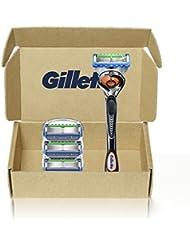 Gillette Fusion5 Proglide Men's Razor Handle + 4 Blade...