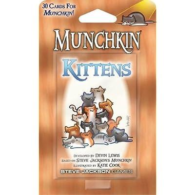 Steve Jackson Games Munchkin Kittens: Toys & Games