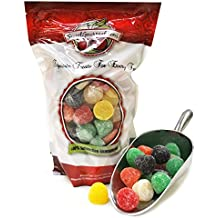 Ferrara Candy Assorted Giant Gum Drops large gumdrops jelly candy (2.5Lb)