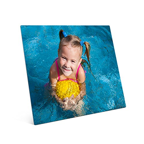 Picture Wall Art Your Photo on Custom Metal 20 x 16 Horizontal Print