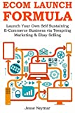 ECOM LAUNCH FORMULA: Launch Your Own Self Sustaining E-Commerce Business via Teespring Marketing & Ebay Selling