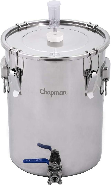 14 Gallon Stainless Steel Fermenter