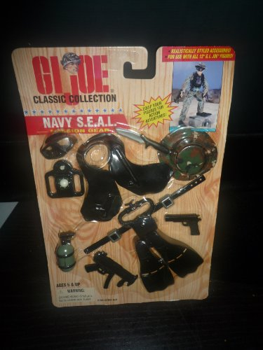 G I Joe Classic Collection Navy Seal Mission Gear