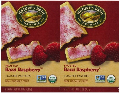 Nature's Path Frosted Toaster Pastry - Raspberry - 11 oz - 6 ct - 2 pk ()