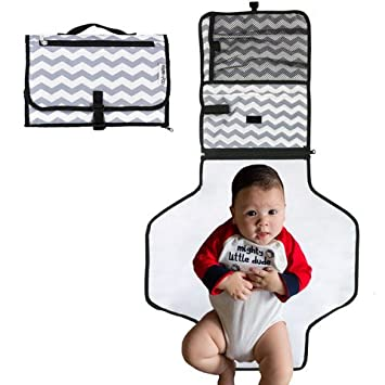 Amazoncom Portable Baby Diaper Changing Pad Newborn and Infant