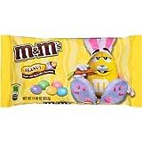 M&Ms Peanut Bunny Mix Colors Milk Chocolate Candies 11.40 oz 323.2g'