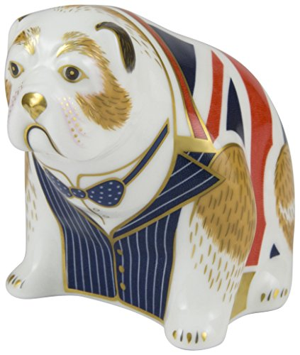 Royal Crown Derby Winston Churchill Bulldog Limited Edition Of 500 - Churchill Crown
