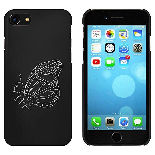 Noir 'Beau Papillon' étui / housse pour iPhone 7 (MC00076089)