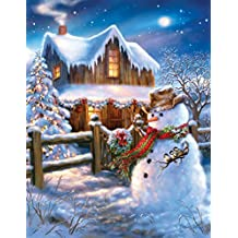 Springbok Puzzles the Country Christmas Jigsaw Puzzle (500 Piece)