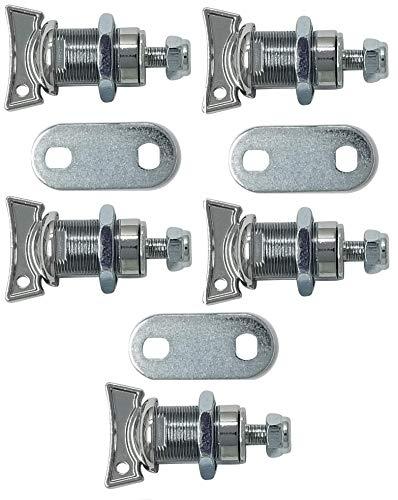 5 Cam Mailbox Lock - Thumb Cam Lock (7/8 Inch, Pack of 5)
