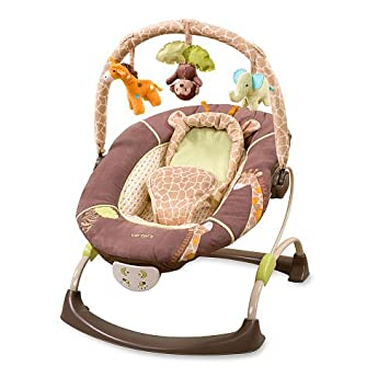 Carters Wild Life Cuddle Me Musical Bouncer