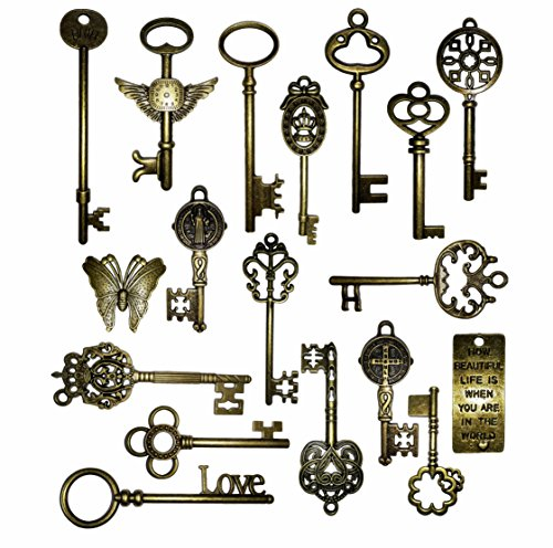 vintage-skeleton-keys-charm-set-in-antique-bronze-pack-of-18-keys-18-different-style-no-repeat