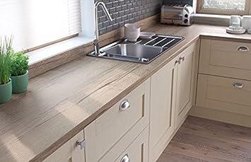 Egger Square Edge Natur Halifax Eiche Holz Effekt Küche Badezimmer ...
