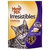 Cheap Meow Mix Irresistibles Crunchy Cat Treats with Real White Meat Chicken and Turkey, 6 oz