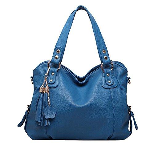 Win8Fong - Bolso de hombro niña Mujer Azul