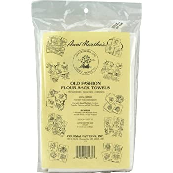Amazon.com: Aunt Martha's White Flour Sack Dish Towels
