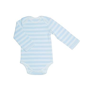Canboli Body Vêtement pour Bébé Blanc/Bleu Taille 12-18 Mois