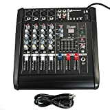 iMeshbean 2000 Watt 4 Channel Professional Powered Mixer Power Mixing Amplifier Amp 16DSP with USB Slot M#01 USA