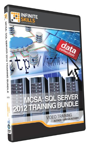 MCSA: SQL Server 2012 Training Bundle - Training DVD