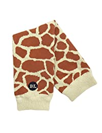 BabyLegs Gentle Giraffe-Leg Warmers, Brown, One Size Fits Most; Up Till 10 Years Old