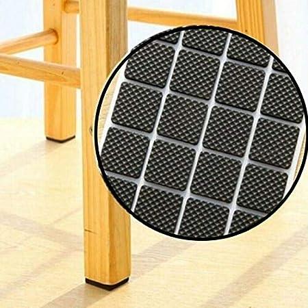 almohadillas de goma 2cm Nergo 30pcs Almohadillas para muebles de mesa de pie de silla