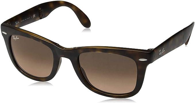 RAY-BAN 894/43 Gafas de sol, Matte Havana, 50 para Hombre